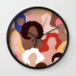 Who run the world? Wall Clock