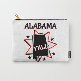 Alabama State Pride T-shirt Carry-All Pouch