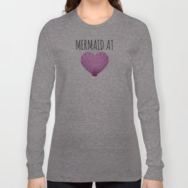 Mermaid At Heart Long Sleeve T-shirt
