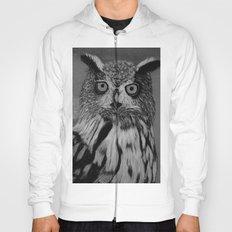 Owl B&W Hoody