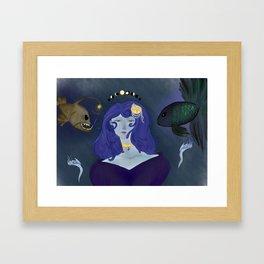 Between Admirable & Terrible Framed Art Print