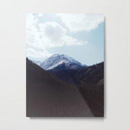 Mt. Timpanogos Metal Print