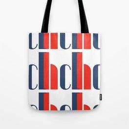 Bauhaus Joschmi Xants Repetition Font Art Tote Bag