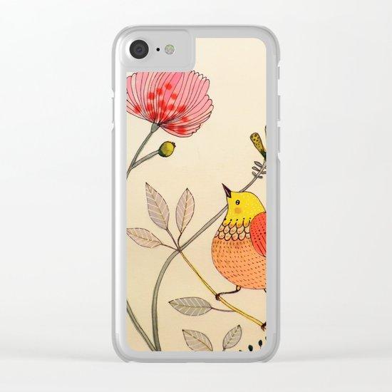 la belle vie Clear iPhone Case