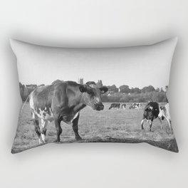 Cow Field Rectangular Pillow