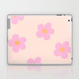 Retro 60's Flower Power 4 Laptop & iPad Skin