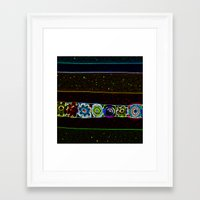 starry night Framed Art Prints featuring Starry Starry Night by Lior Blum