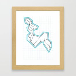 GeoMania. Framed Art Print