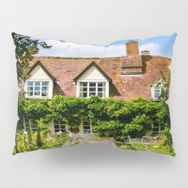Cottage garden. v2 Pillow Sham