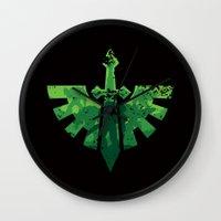 warhammer Wall Clocks featuring Angels on the horizon by HenkusFilijokus