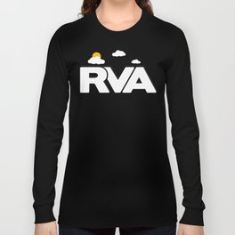 Rva Logo | ' Game Style ' Long Sleeve T-shirt