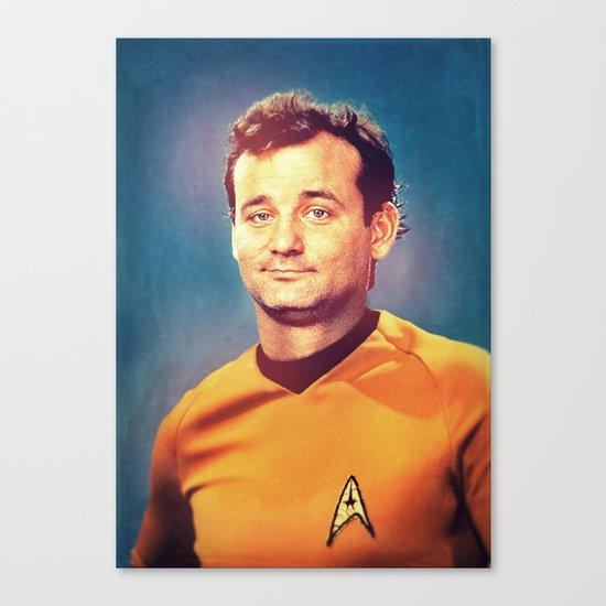 Captain Bill Canvas Print