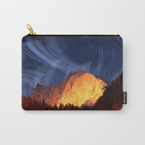 the rock at sunset Carry-All Pouch