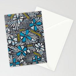 Asha Floral - Blue Stationery Cards