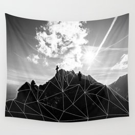 Crystal Mountain II Wall Tapestry