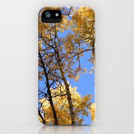 Blue Skies iPhone Case