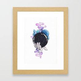 Full of Magic Crystal Ball Framed Art Print