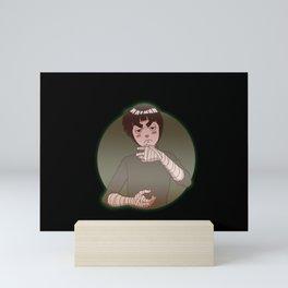 Rock Lee Drunken Fist v.1 Mini Art Print