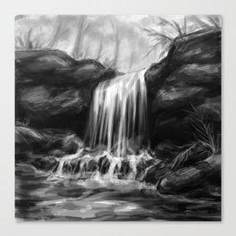Watefall Canvas Print