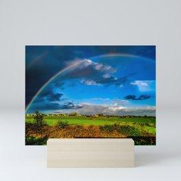 Rainbow over Ireland Mini Art Print