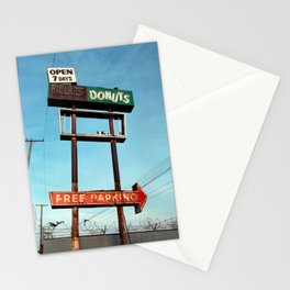Bill's Donuts Stationery Cards