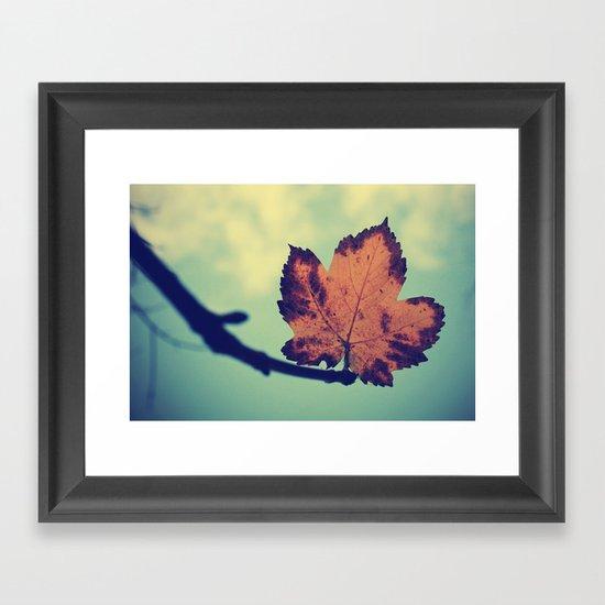 Leaf! Framed Art Print