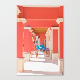 Mexican Storefront Canvas Print