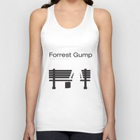 "forrest gump Tank Tops featuring Film ""Forrest Gump"" by Patricia Calzado"