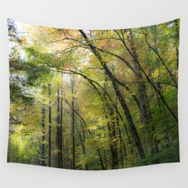 Trees in October 2 Wall Tapestry