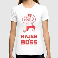 boss T-shirts featuring Hajer Boss by Krzysztof Kaluszka