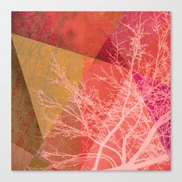 P19-C3 TREES AND TRIANGLES Canvas Print