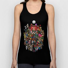 Super Mighty Boosh Unisex Tank Top