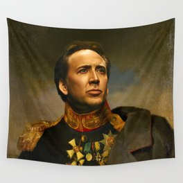 Nicolas Cage - replaceface Wall Tapestry