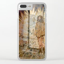 Lisa Marie Basile, No. 81 Clear iPhone Case