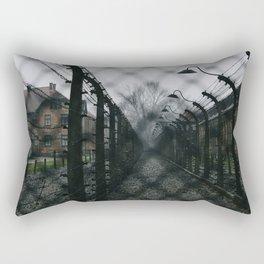 Auschwitz-Birkenau Camp Rectangular Pillow