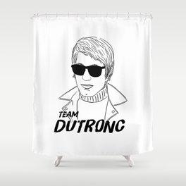 TEAM DUTRONC Shower Curtain