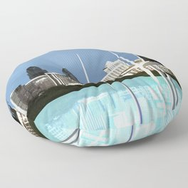 Fly: Go With The Wind Floor Pillow