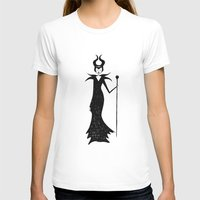 maleficent T-shirts featuring maleficent by kate gabrielle