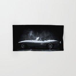 Jaguar E-Type XKE Profile Hand & Bath Towel