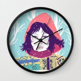 Kumiko Wall Clock