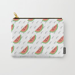 Watermelon Seeds Summer Pattern Carry-All Pouch