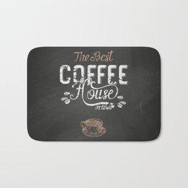 Coffee blackboard lettering — The Beast Coffee House Bath Mat