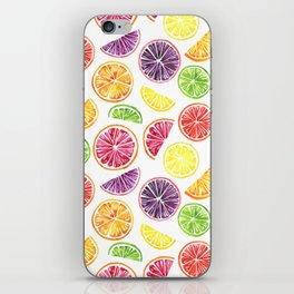Citrus Wheels iPhone Skin