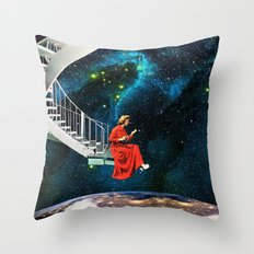 Nail-Biting Edge Throw Pillow