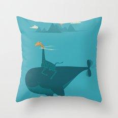 Nature's Submarine Throw Pillow