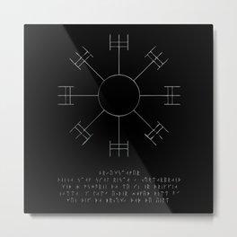 Dream Stave Metal Print