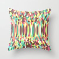 law Throw Pillows featuring Faraday's Law by Donovan Justice