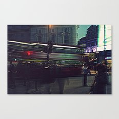 A surreal Oxford Street-London Canvas Print