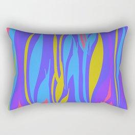 vibrant flames Rectangular Pillow