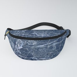 Pisces sky star map Fanny Pack